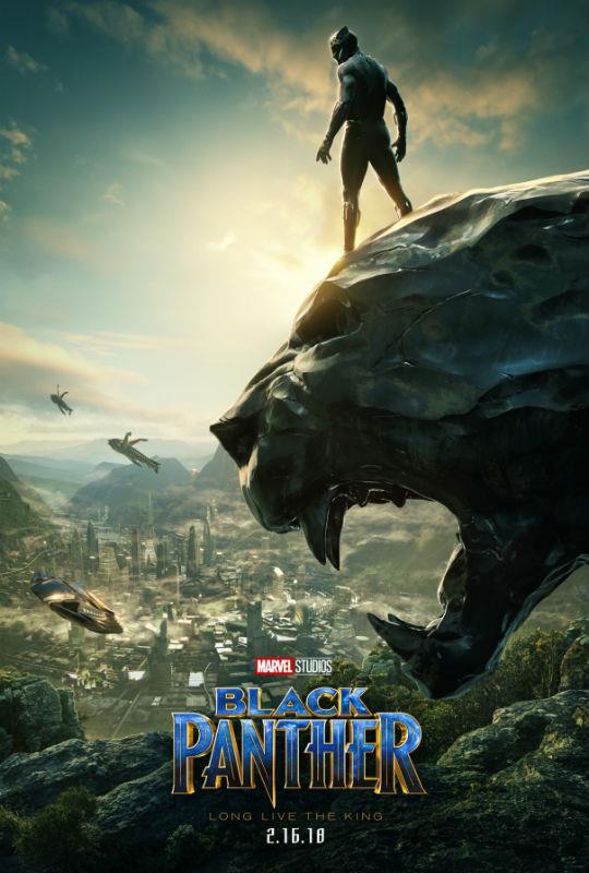 Pantera Nera, il nuovo poster del cinecomic Marvel
