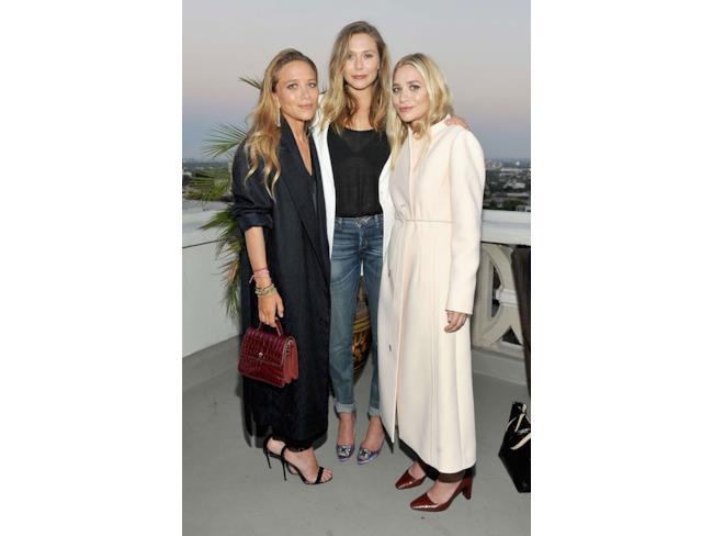 Le sorelle Olsen al completo