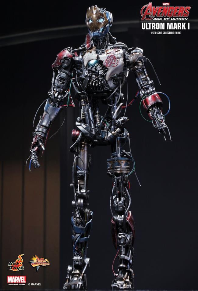 Il modellino di Ultron Mark I ha un corpo asimmetrico