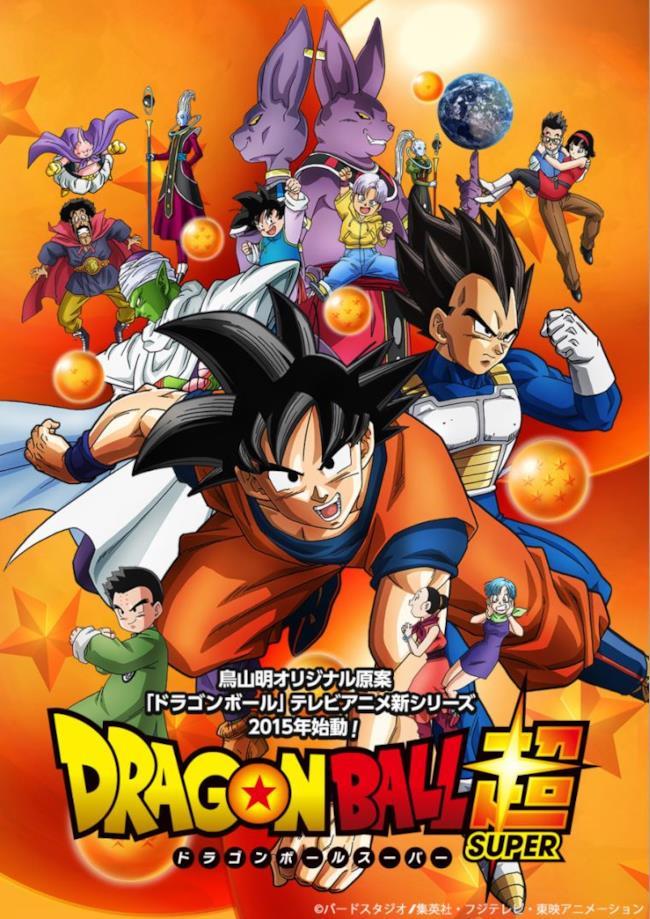 Il poster ufficiale di Dragon Ball Super