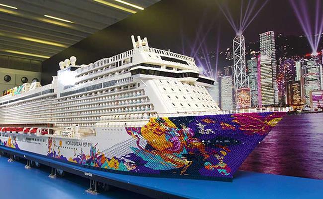 La replica della nave World Dream