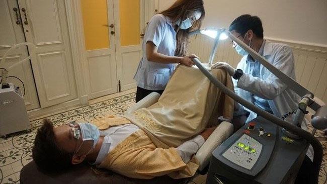 La procedura di sbiancamento del pene