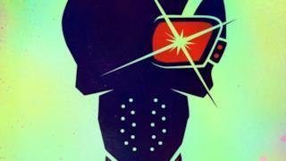 Il cartoon poster di Deadshot in Suicide Squad
