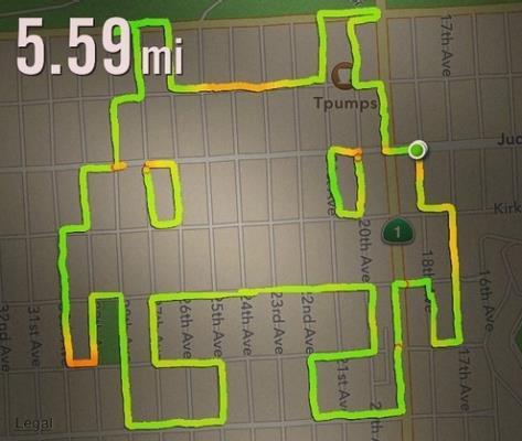 Disegno con GPS