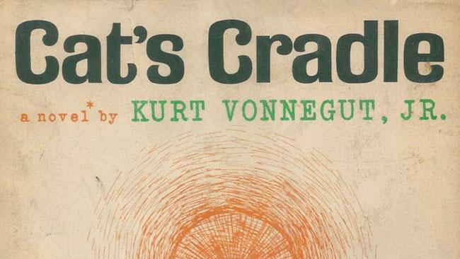 La copertina di Cat's Cradle di Kurt Vonnegut