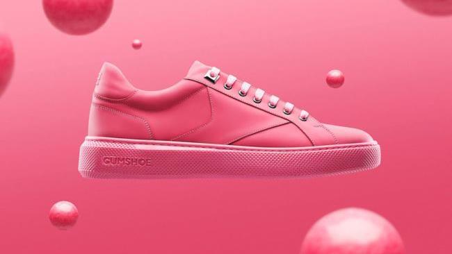Le scarpe realizzate con gomme da mastocare ricilate