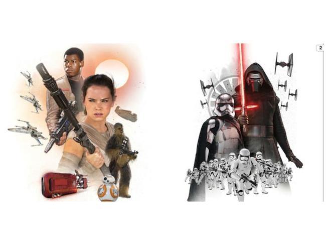 Promo art con nuovi protagonisti di Star Wars Episodio 7