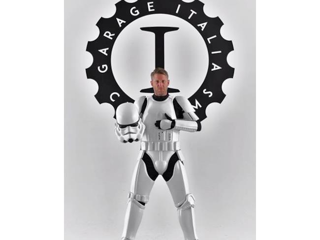 Stormtrooper pronto alla guida della speciale 500e