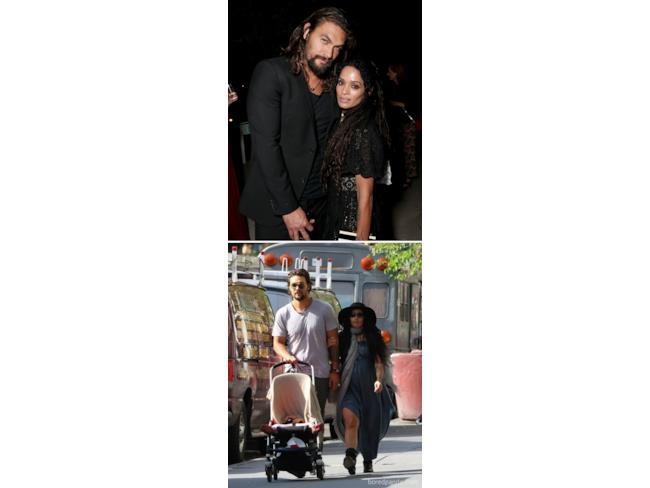 Khal Drogo con sua moglie