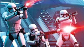 Una scena di Star Wars 7