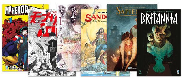 I fumetti che potremo trovare in fumetteria per i Free Comic Book Days