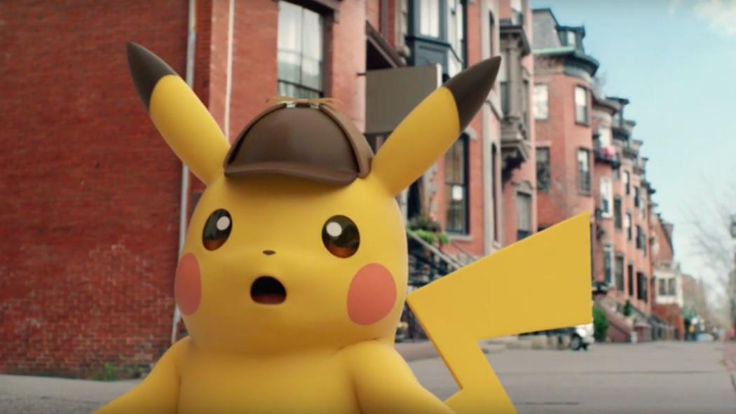 Eccolo: una prima immagine di Pikachu Detective!