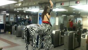 Gente che puoi incontrare in metropolitana