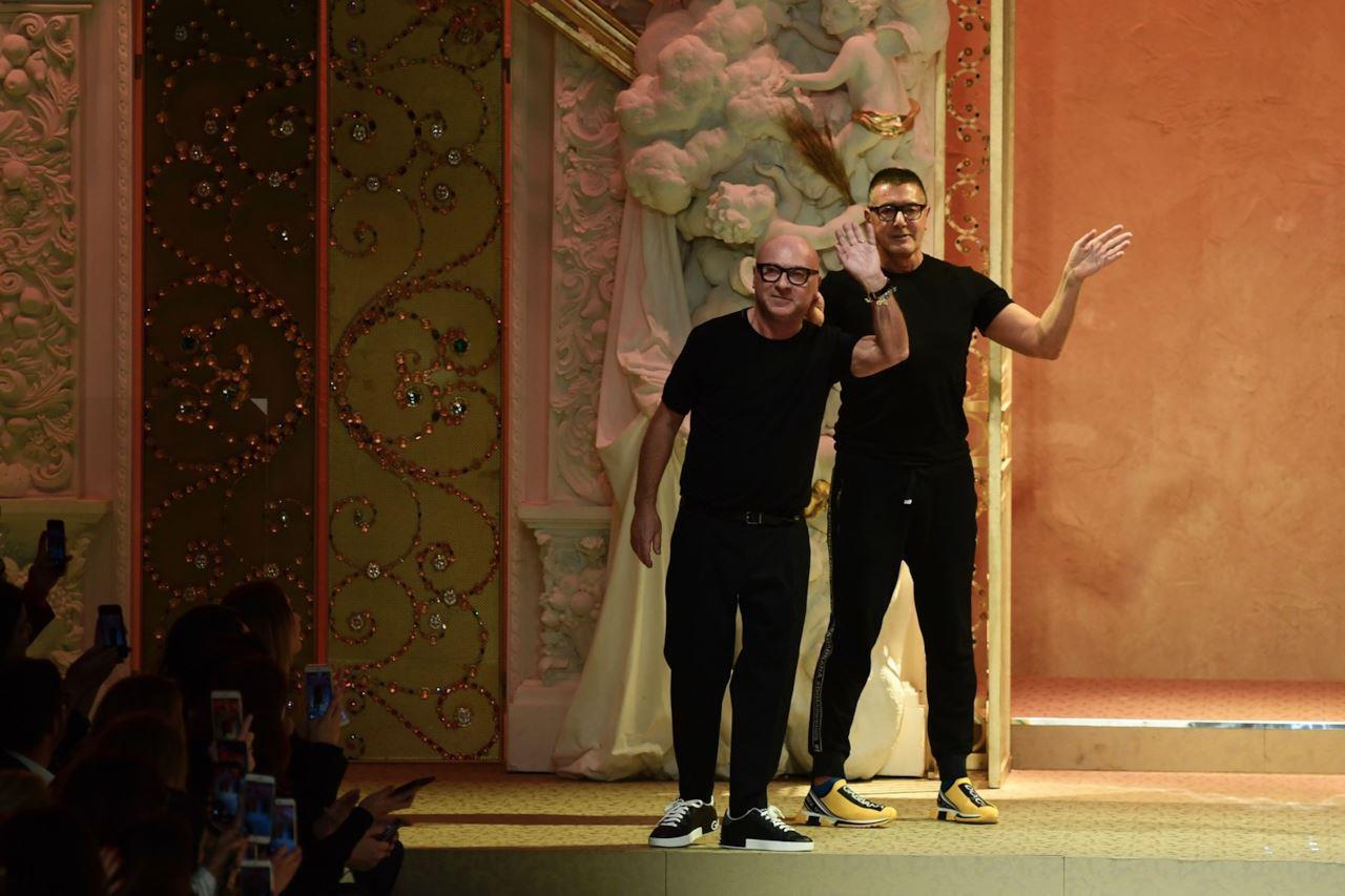 I due stilisti Dolce & Gabbana