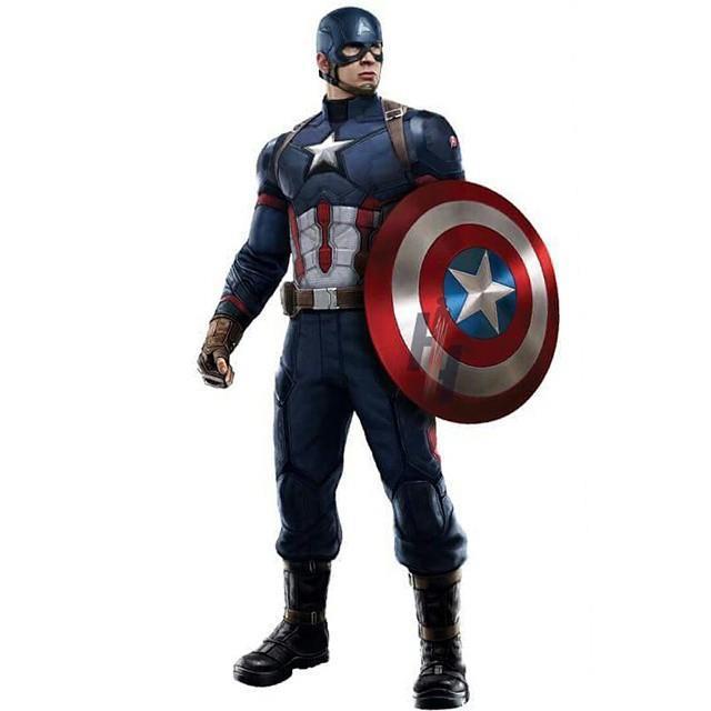 Il costume di Capitan America in Civil War