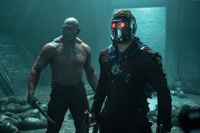 Una scena de I Guardiani Della Galassia