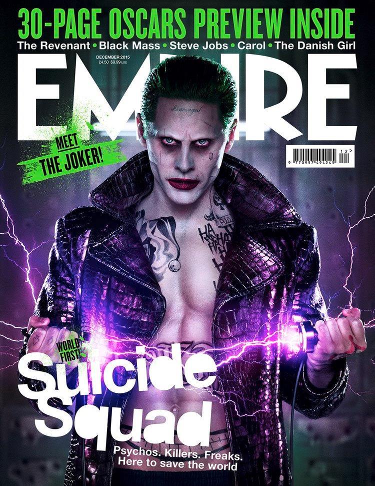 Joker sulla copertina di empire Magazine