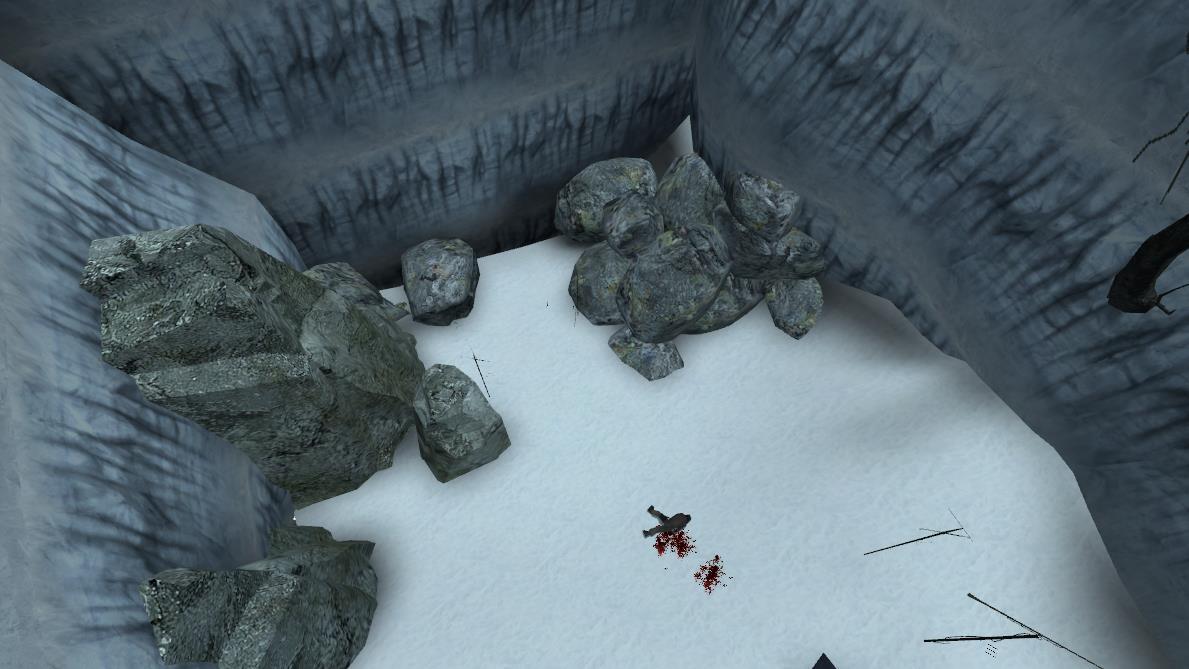 Una scena dal mod Half Life 2 episodio 3