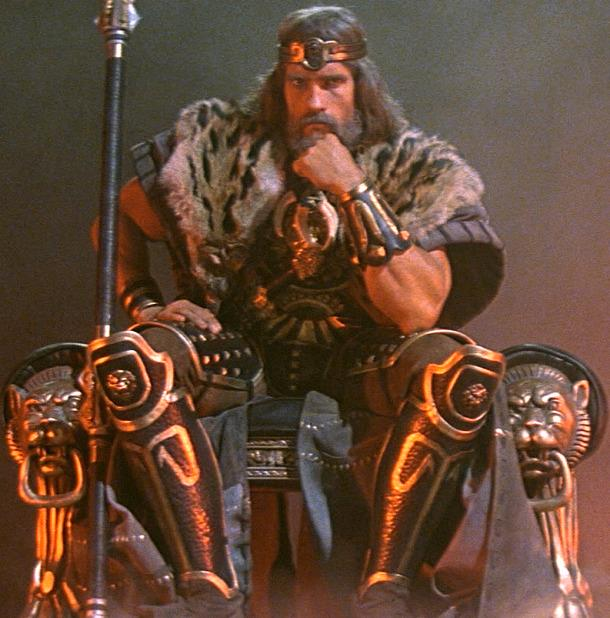 Arnold Schwarzenegger ne The Legend of Conan