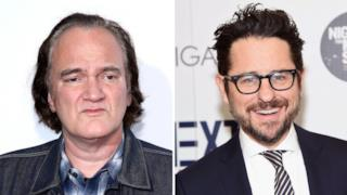 Tarantino a sinistra, Abrams a destra