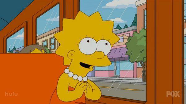 Lisa in autobus