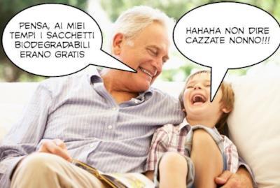 Il meme col nonno