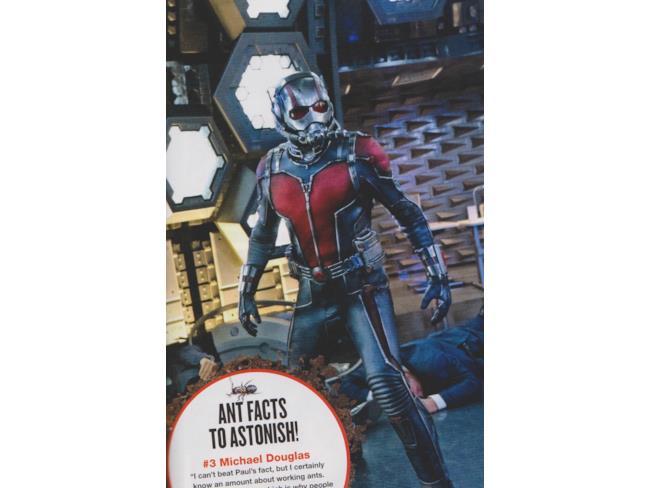 I poteri di Ant-Man derivano dal suo costume