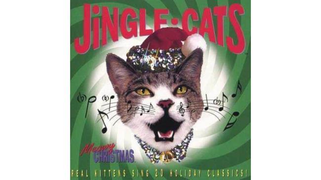 Copertina del disco Jingle-cats
