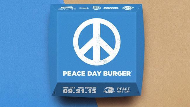 Il nuovo burger della pace di Burger King