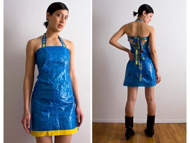 IKEA FRAKTA trasformata in un vestito