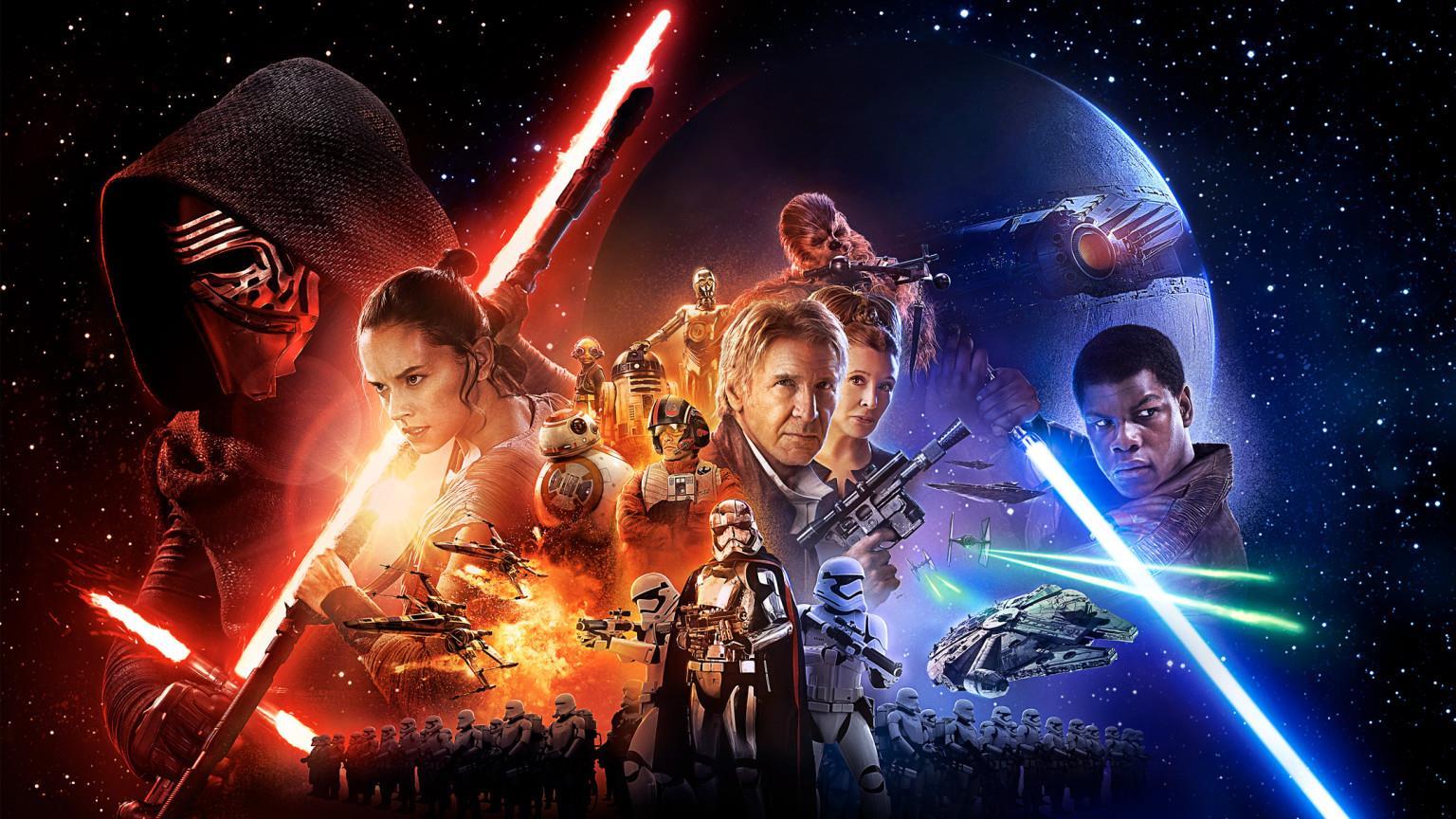 Un poster promozionale di Star Wars