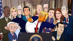 Una scena del teaser trailer della serie animata