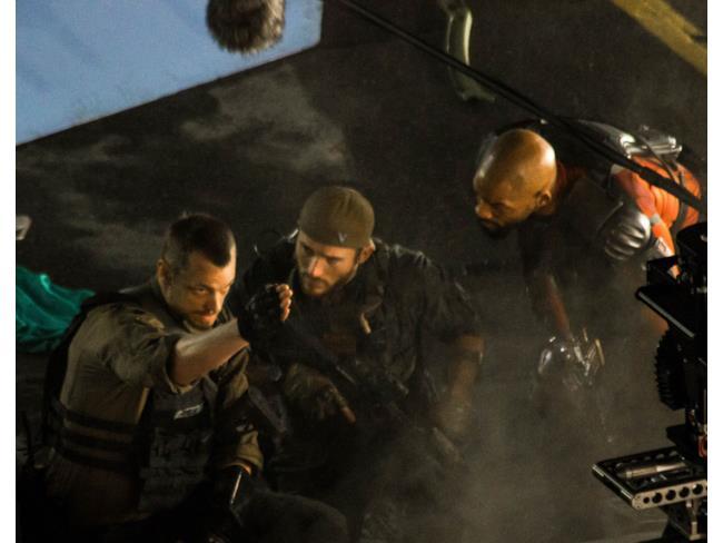 Deadshot in una scena di Suicide Squad