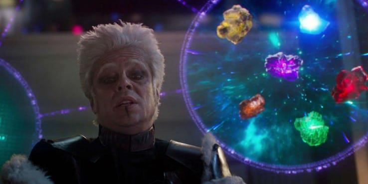 Le Gemme dell'Infinito presentate nel primo Guardiani della Galassia.