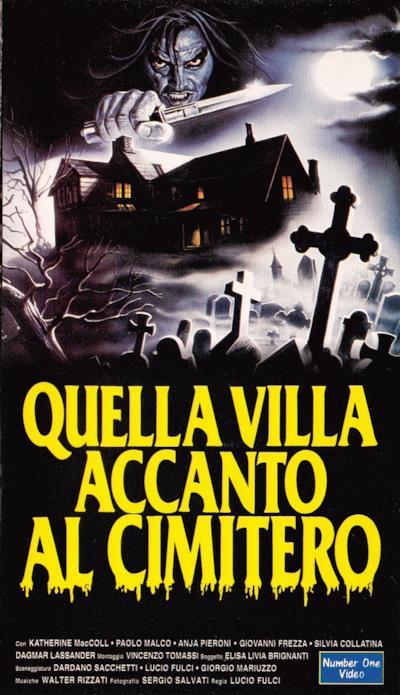 Il poster del film Quella villa accanto al cimitero