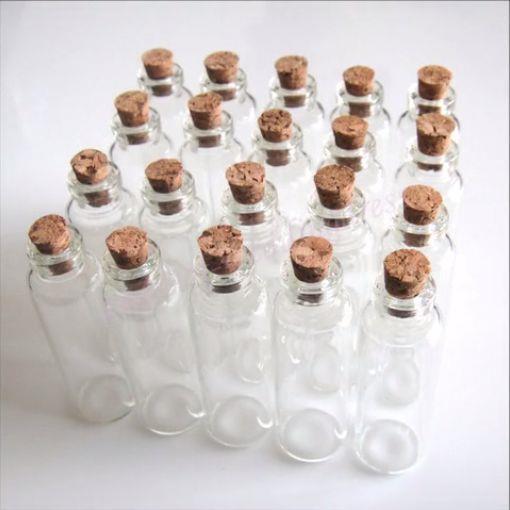Le boccette del progetto Fart in a Jar