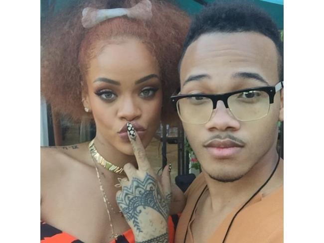 Rihanna e il fratello di lei