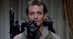 Bill Murray nel primo film sui Ghostbusters