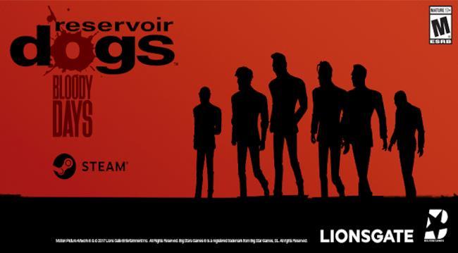 La locandina del videogame Reservoir Dogs: Bloody Days