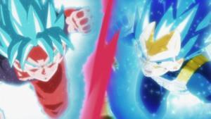 Goku e Vegeta alla riscossa contro Jiren