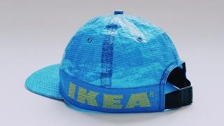 IKEA FRAKTA trasformata in un cappello