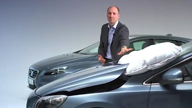 Volvo airbag esterni