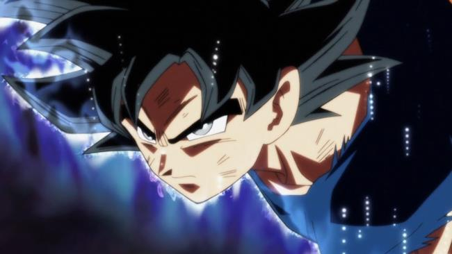 Goku in modalità 'Ultra Istinto'