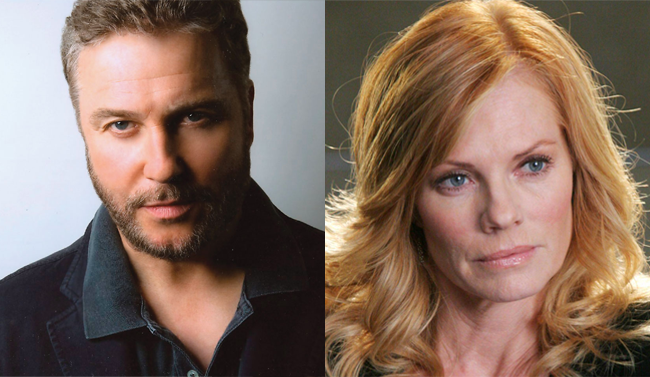 Grissom e Catherine in CSI
