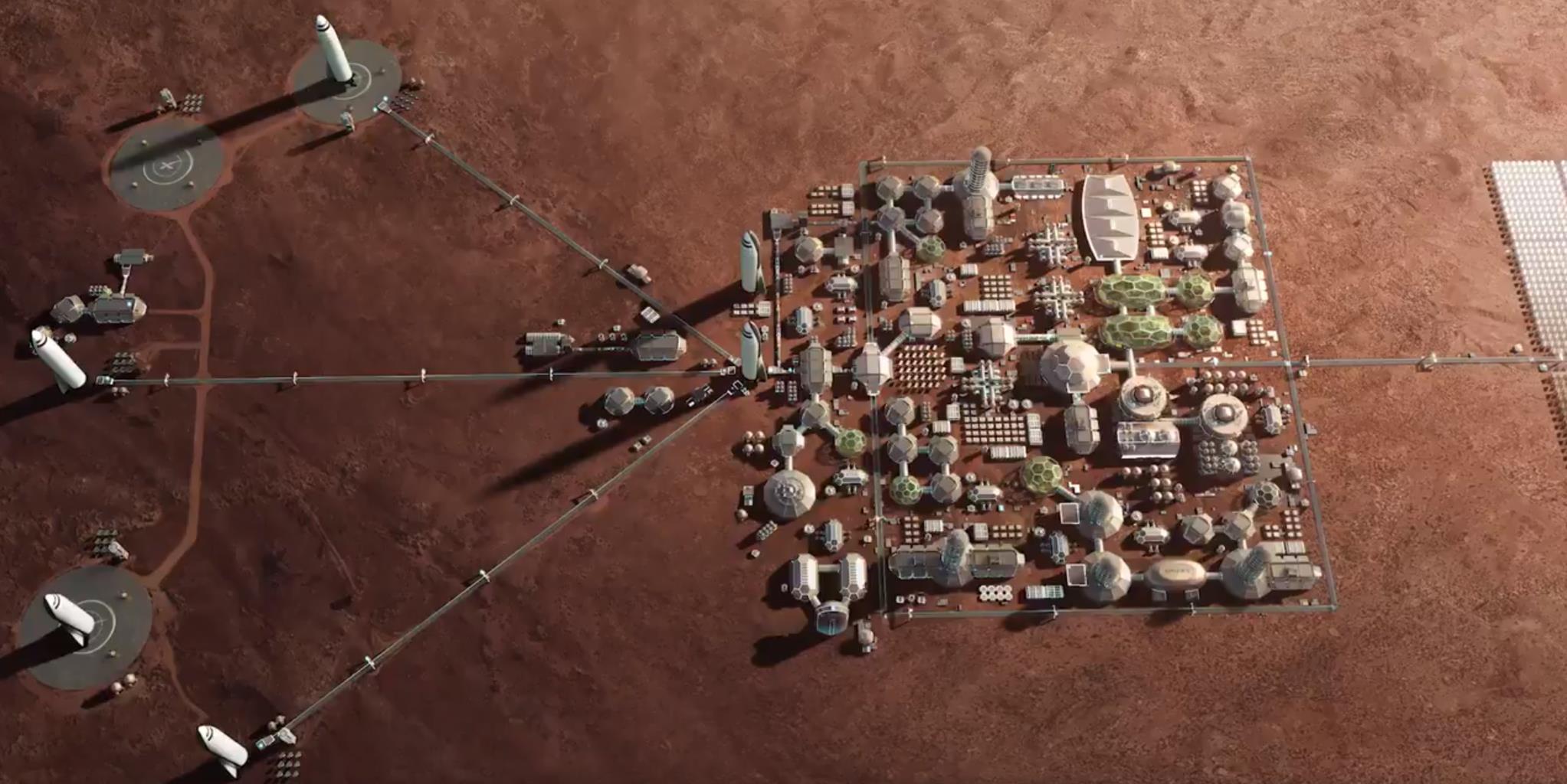I BFR porteranno gli umani su Marte