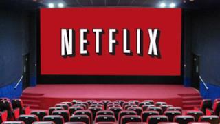 Il logo Netflix al cinema