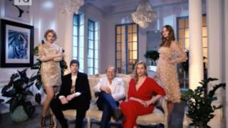 Il magnate russo con i tre figli, giudici del reality