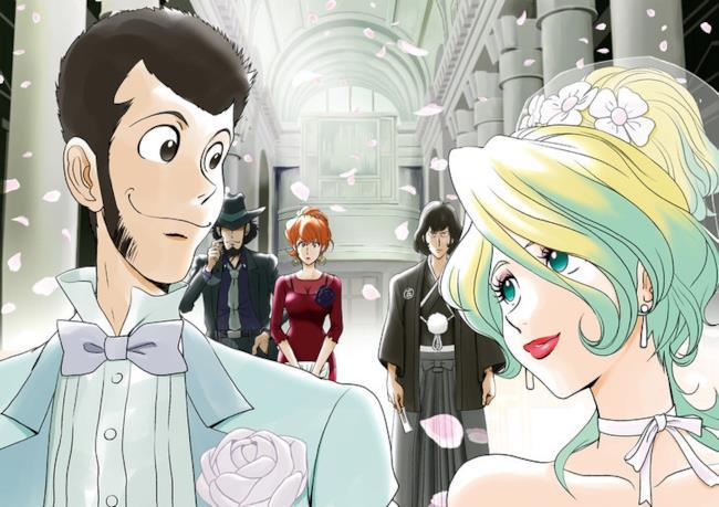 Foto promozionale del manga de L'avventura italiana di Lupin III