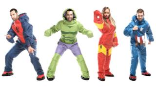 Sacchi a pelo da super eroi Marvel