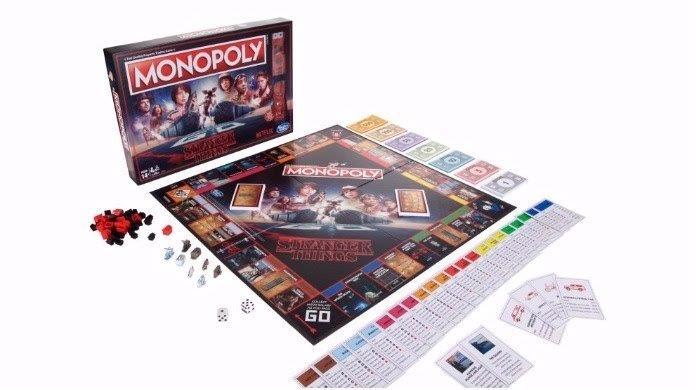 Stranger Things e il Monopoly